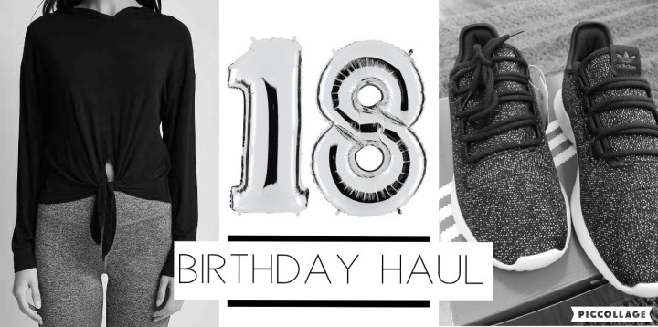 Small Birthday Haul